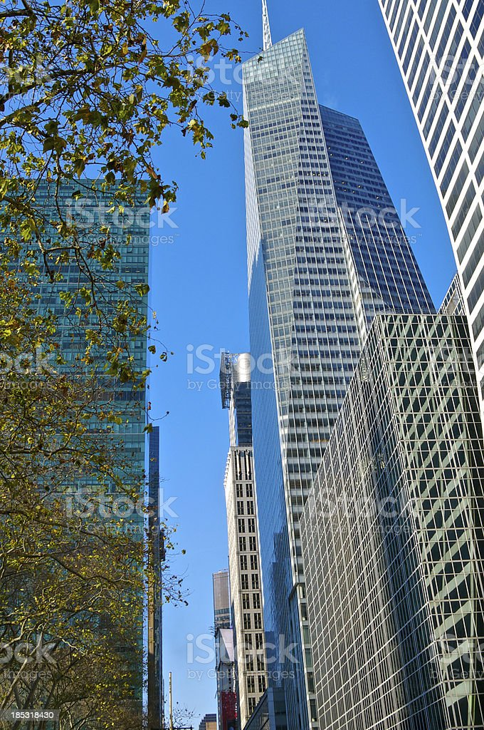 Bank of America Tower NYC stock photo