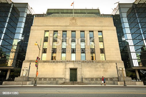 istock Bank of Canada financial building exterior in Ottawa Canada 960641080