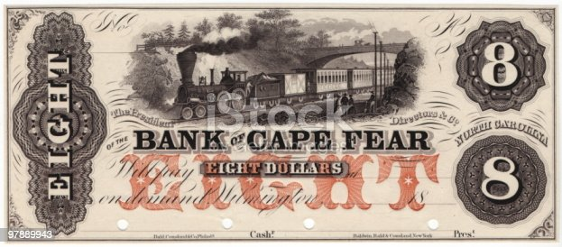 istock $8 Bank of Cape Fear 97889943