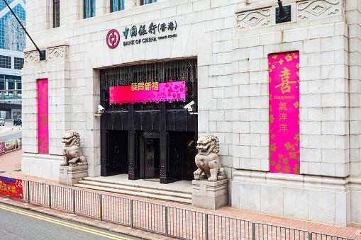 BOCHK Bank of China Hong Kong