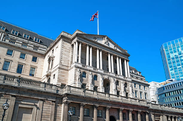 Bank of England, London. stock photo