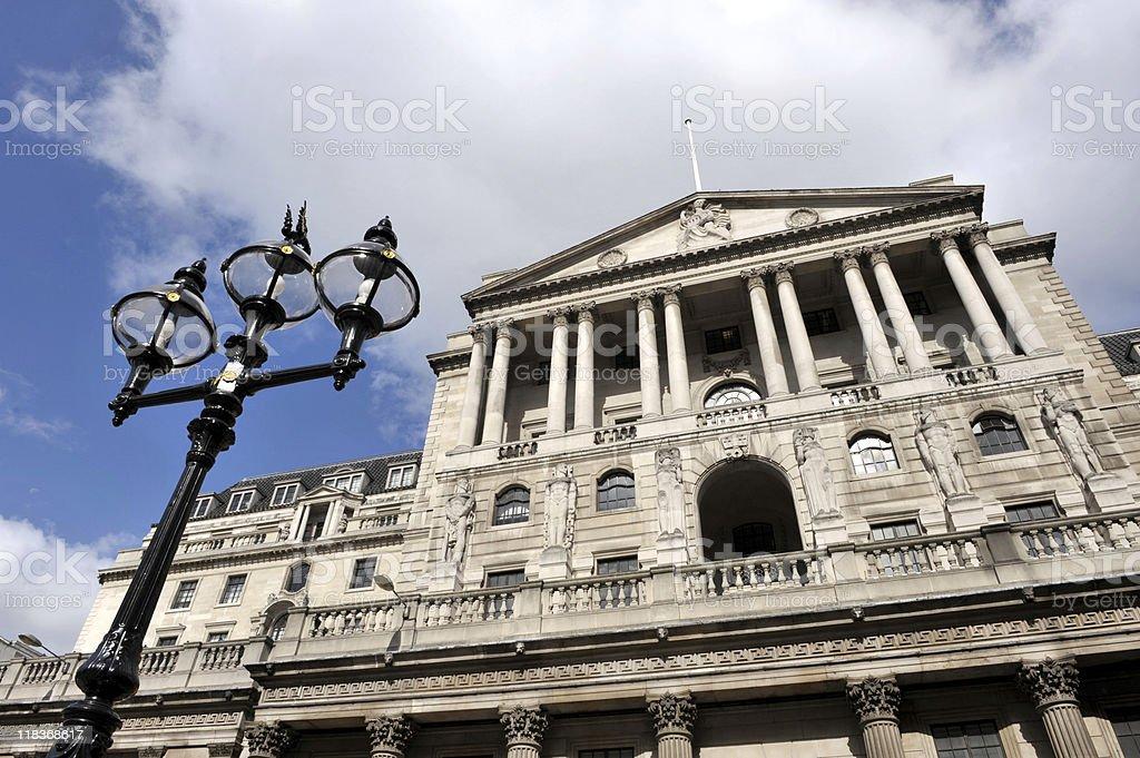 Bank of England royalty-free stock photo
