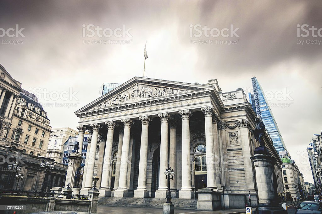 Bank of England stock photo