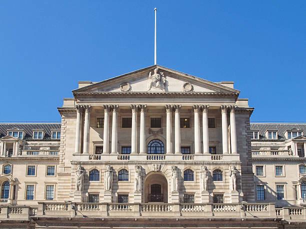 Bank of England - foto de acervo