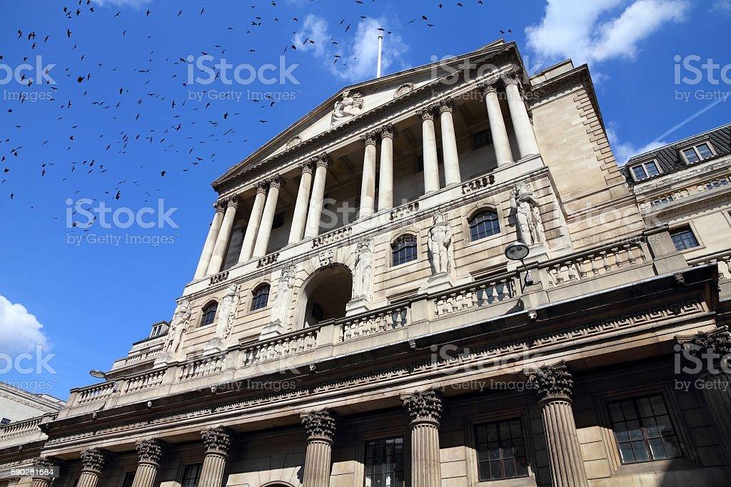 Bank of England stock photo