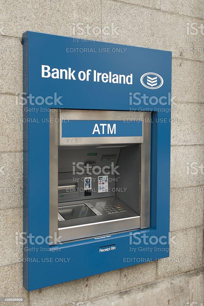 Bank of Ireland ATM royalty-free stock photo