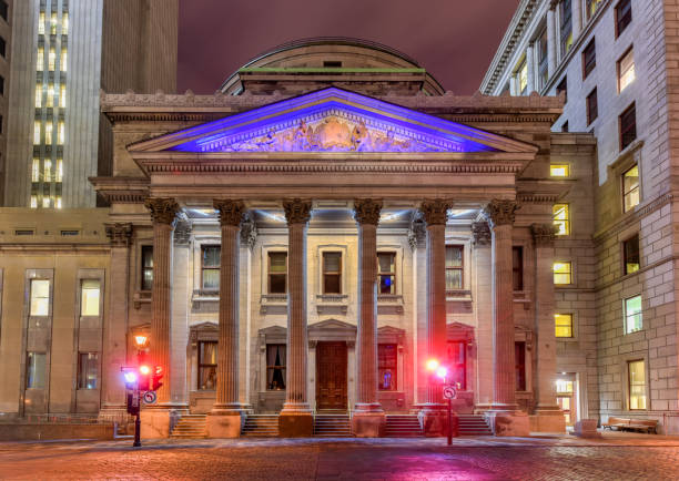 Bank of Montreal stock photo