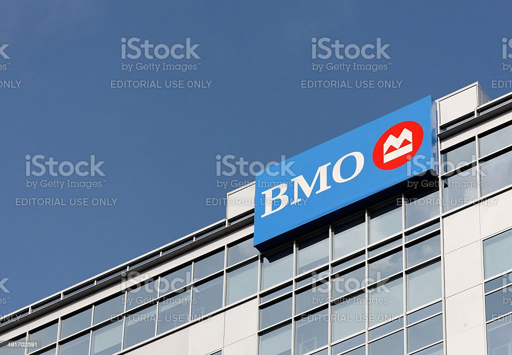 Bank of Montreal stock photo