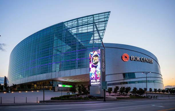 Bank of Oklahoma (Bok) Center. Tulsa, Oklahoma, USA. – Foto