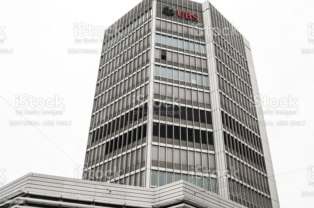 UBS Bank of Switzerland stock photo
