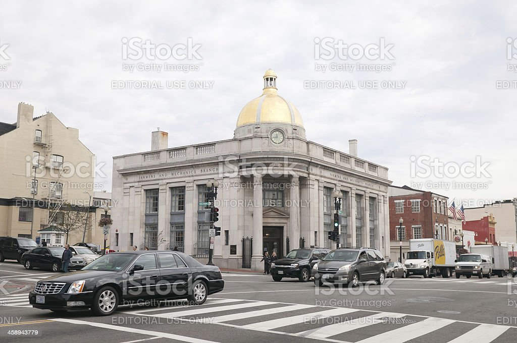 Pnc Bank On M Street In Georgetown Usa Stock Photo