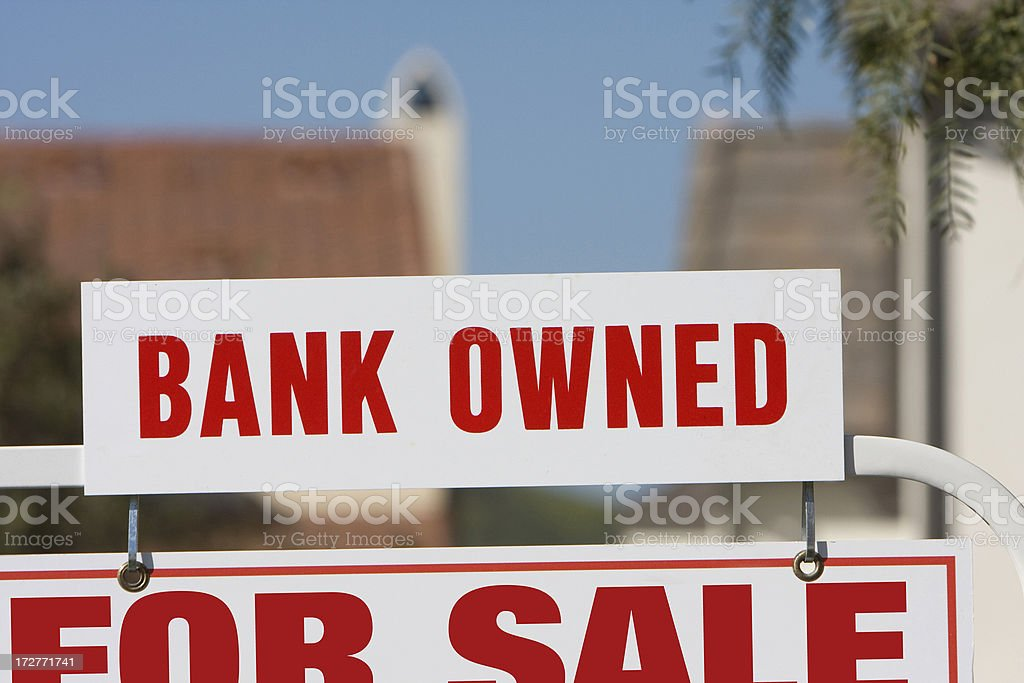 bank owned royalty-free stock photo