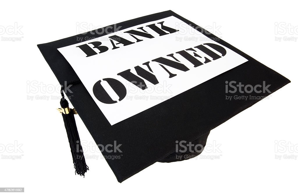 Bank Owned stock photo