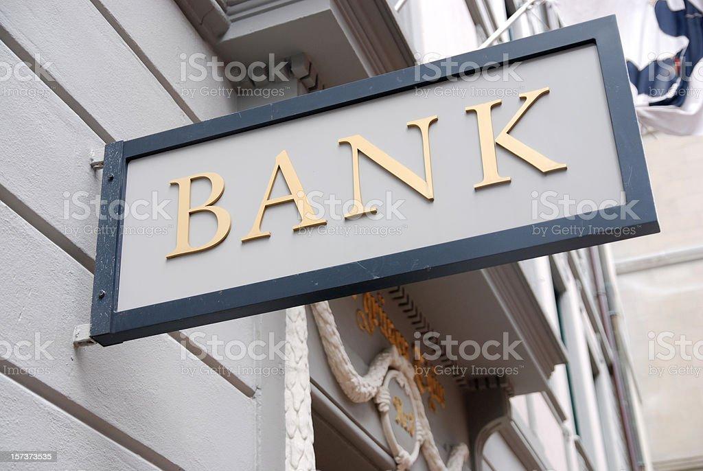 Bank royalty-free stock photo