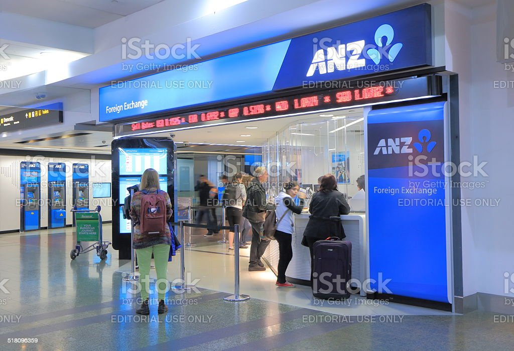 ANZ Bank stock photo