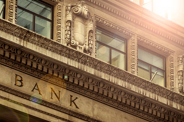 bank - interest rate stock photos and pictures