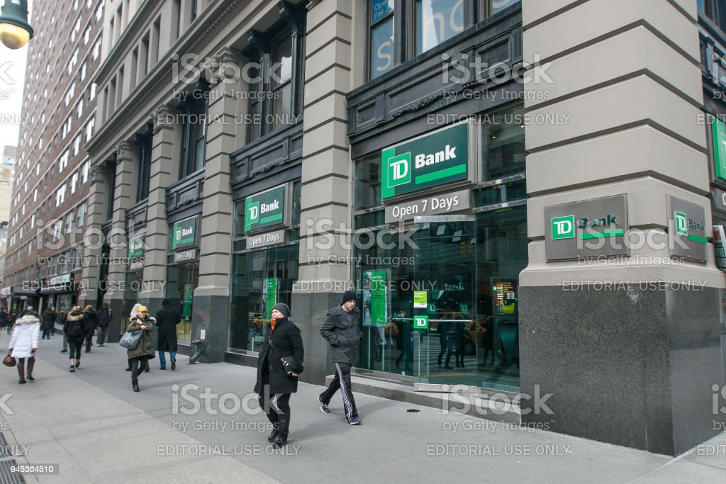 Td Bank Stock Photo More Pictures Of Bank Istock