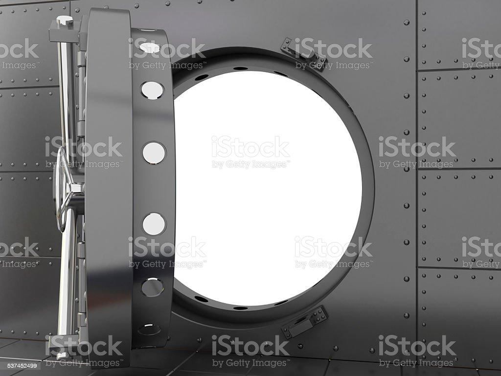 Bank safe stock photo
