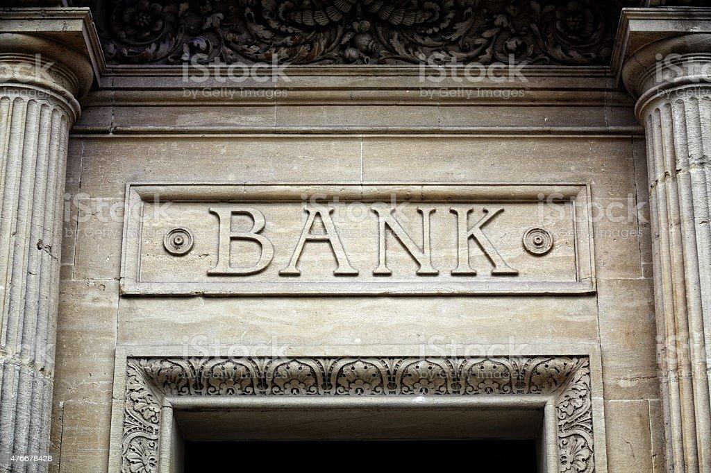Bank anmelden, Gebäude – Foto