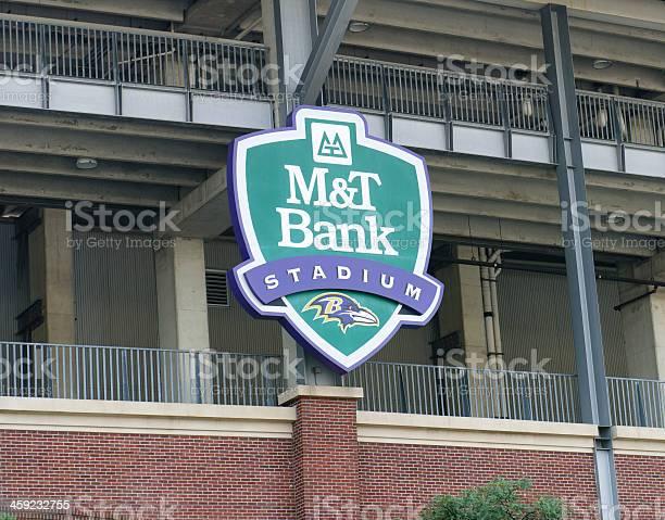 M&T Bank Stadium sign in Baltimore