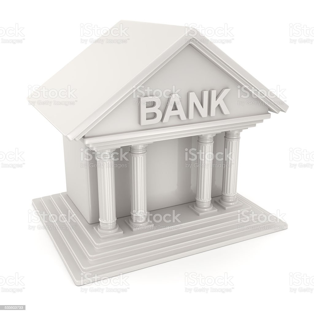 Bank Symbol stock photo