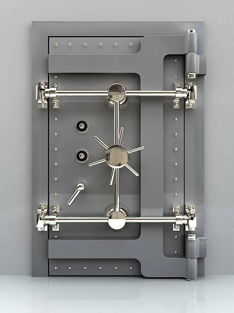bank gewölbe 02 - safe stock-fotos und bilder