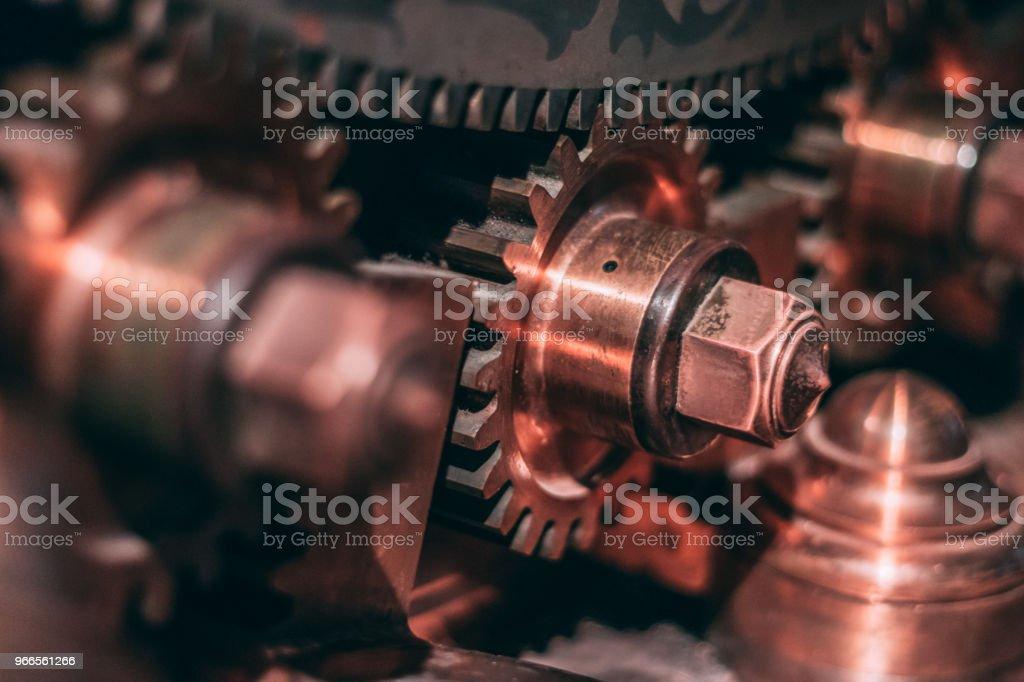 Bank vault lock gear стоковое фото