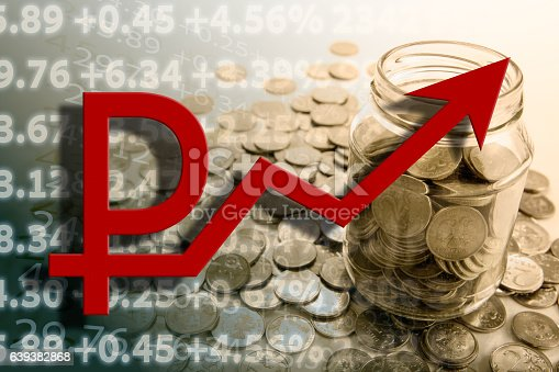 467271788 istock photo bank with ruble coins and counting 639382868