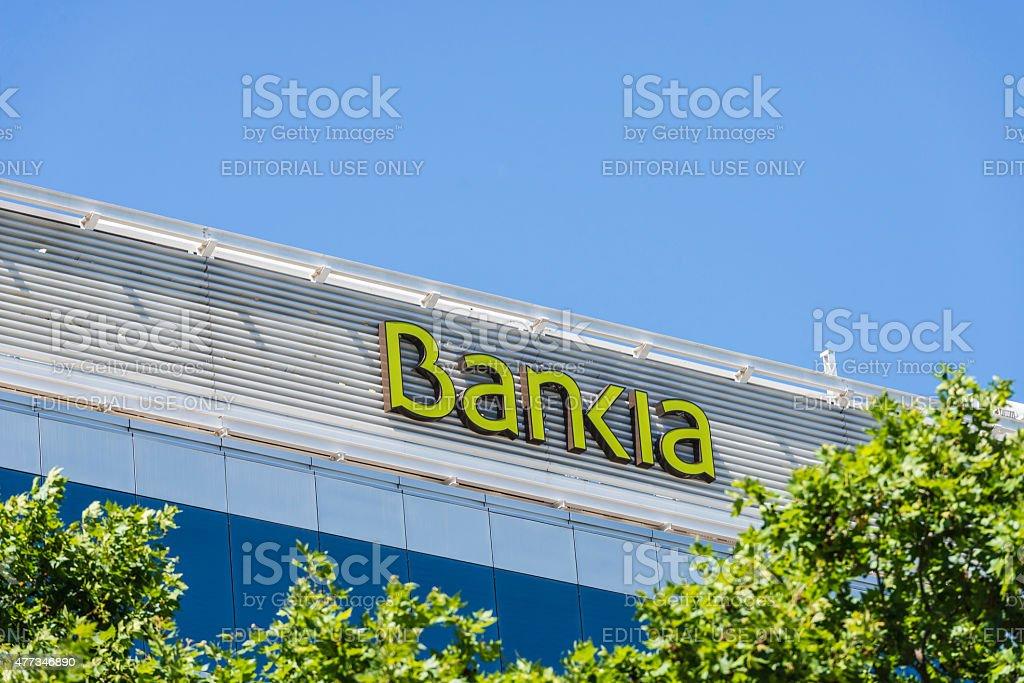 Bankia oficina, Barcelona - foto de stock