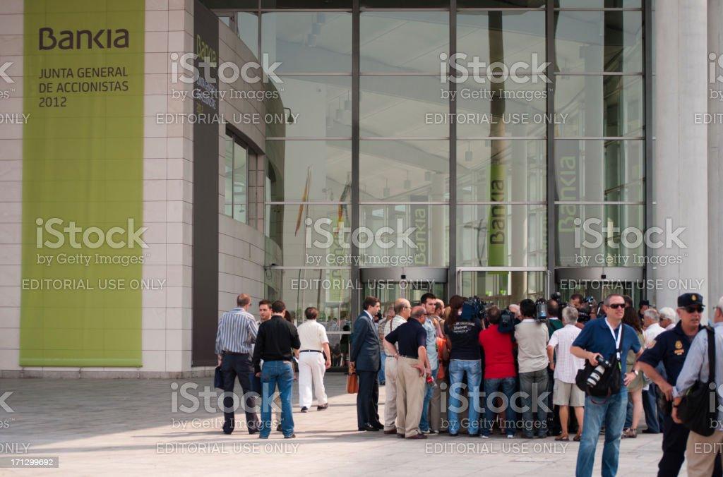 Bankia - foto de stock