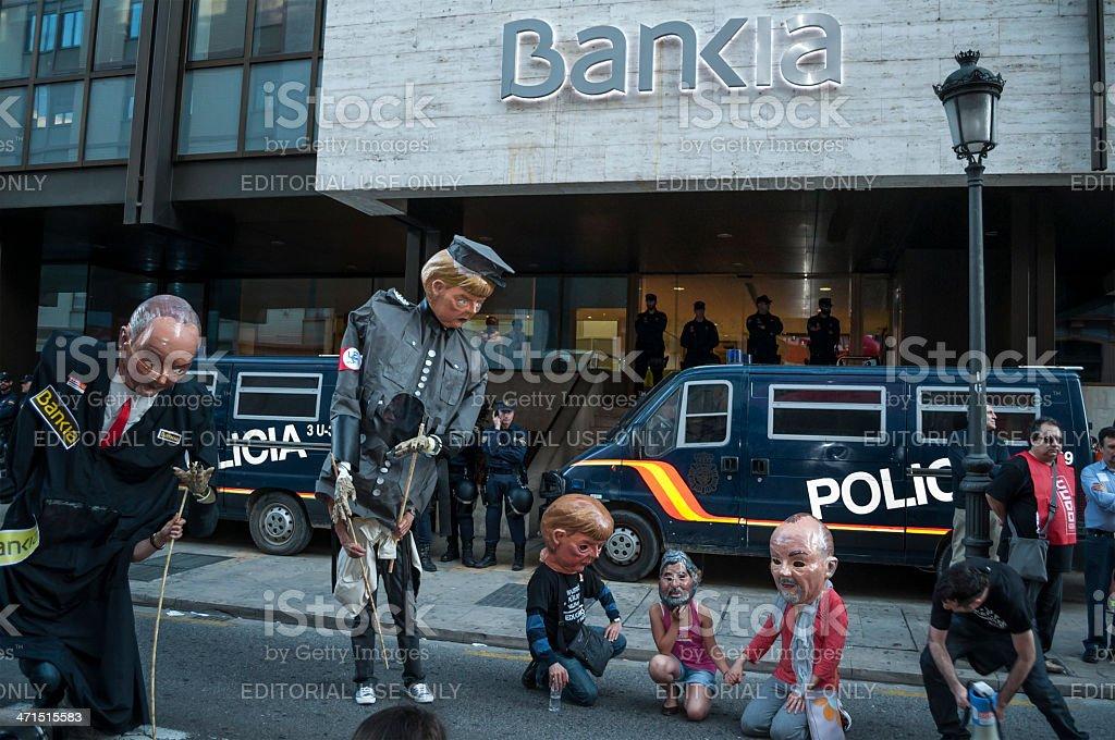 Bankia. stock photo
