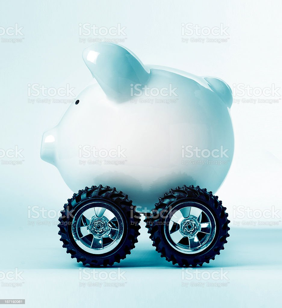 banking 4x4 royalty-free stock photo