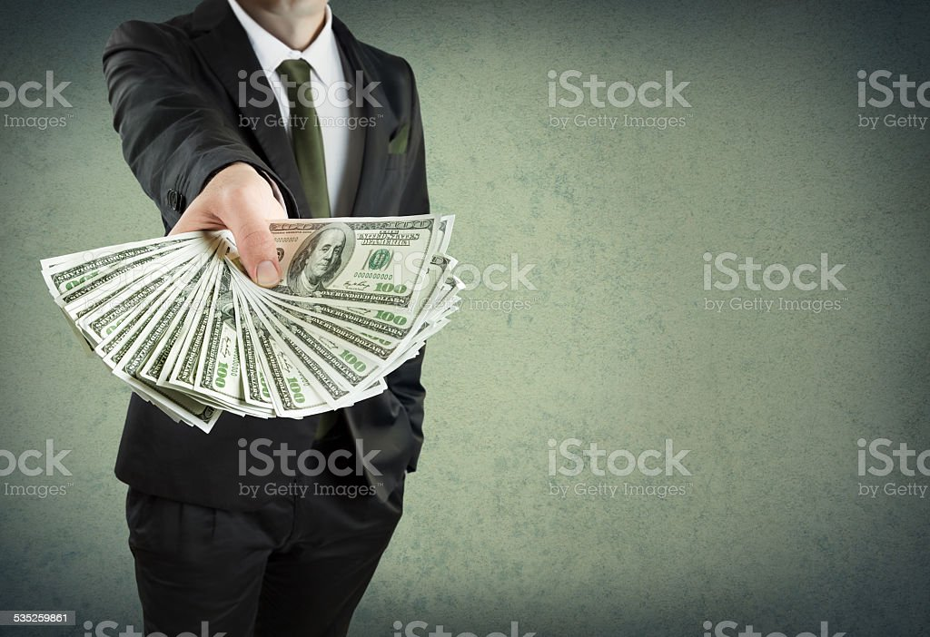 banking loan, or cash concept stock photo