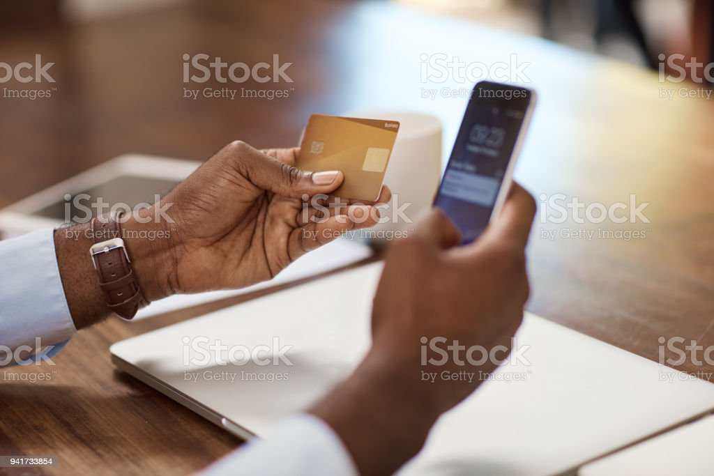 Banking made simple stock photo