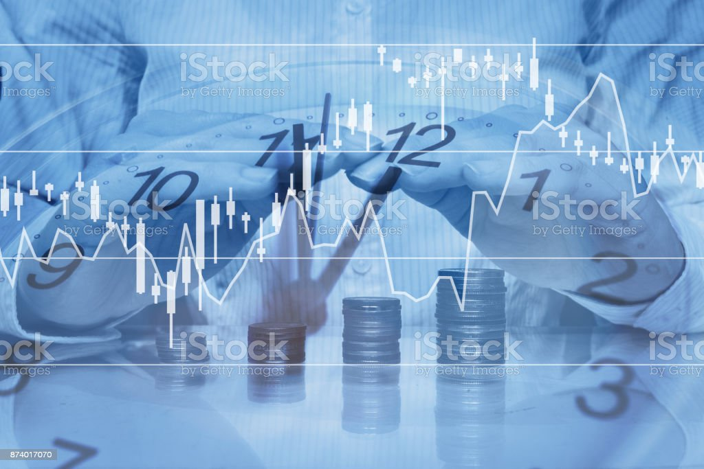 banking or investement insurance concept stock photo