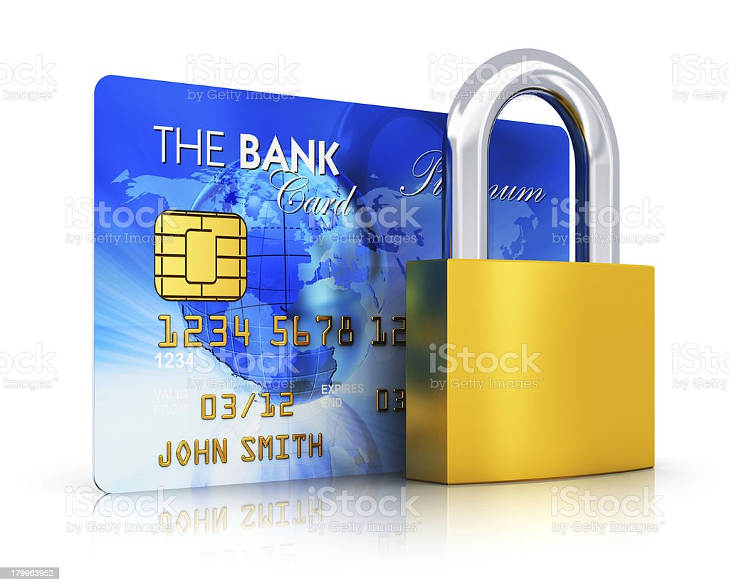 Banking security concept royalty-free stock photo