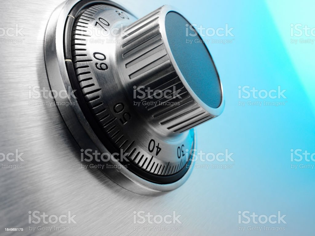 Banking Security Vault stock photo