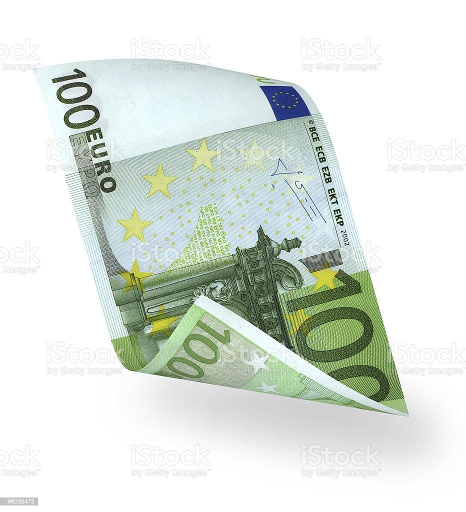 banknote 100 euro royalty-free stock photo