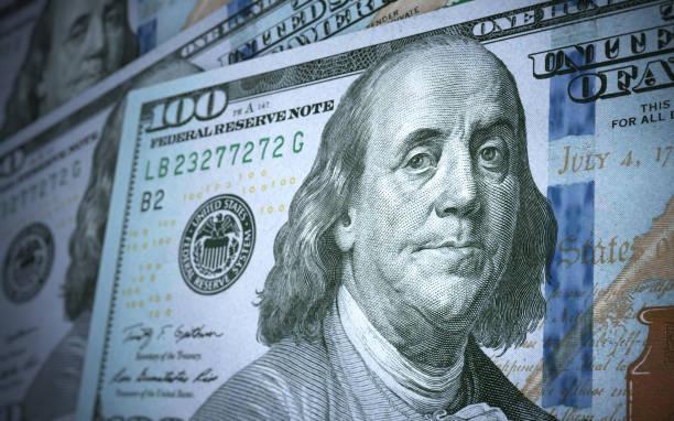 $100 Banknote stock photo