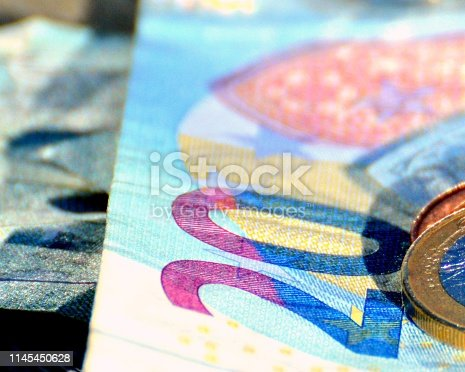 EURO on table