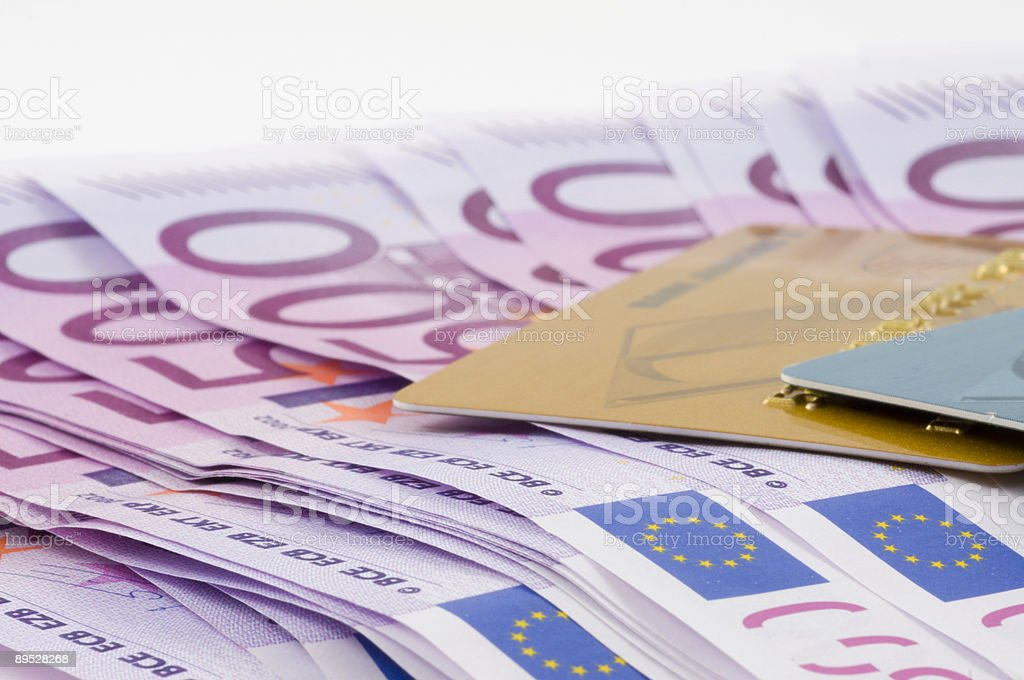 Banknotes of euro. royalty-free stock photo