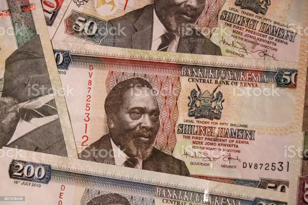 Banknotes Of Kenya Of Different Types And Years World Paper