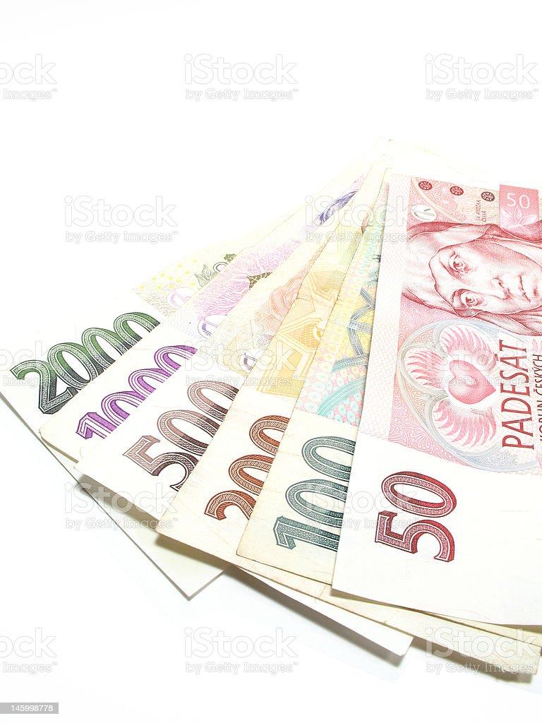 Banknotes royalty-free stock photo