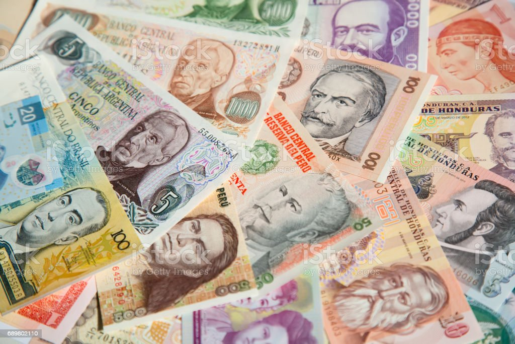 Banknotes stock photo