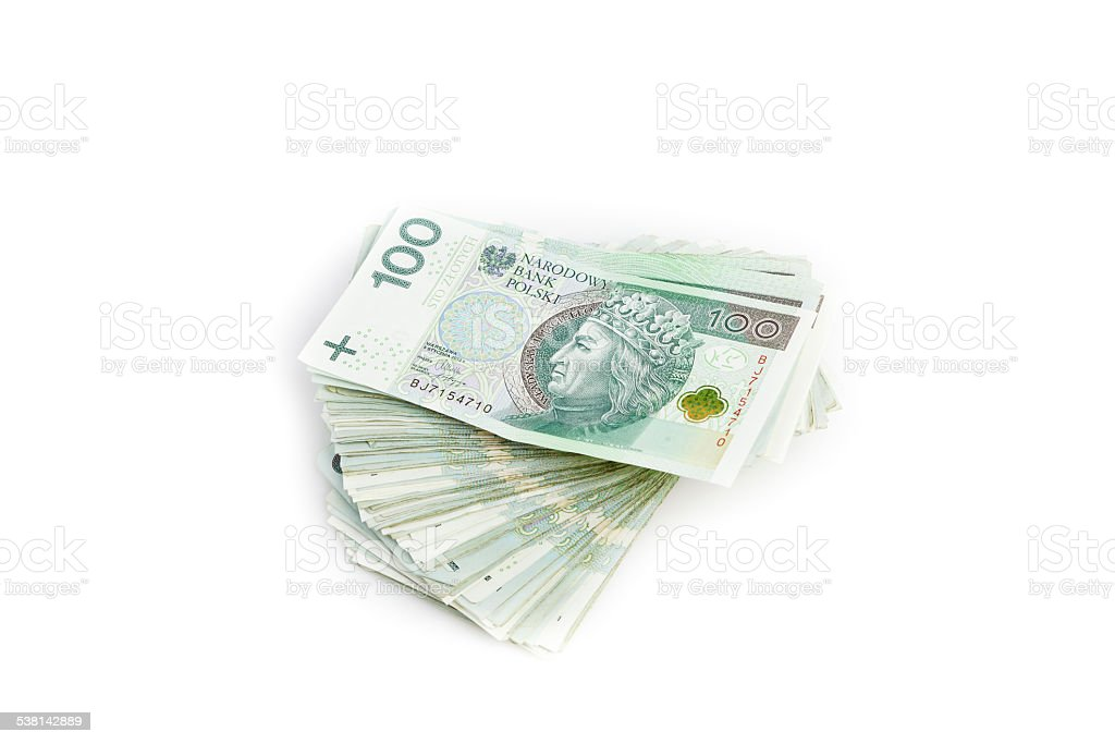 Banknotes stack stock photo