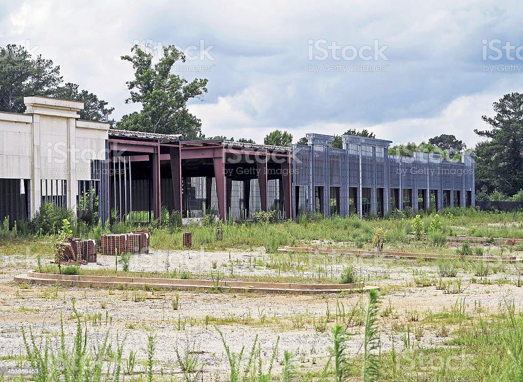 Bankrupt Construction royalty-free stock photo