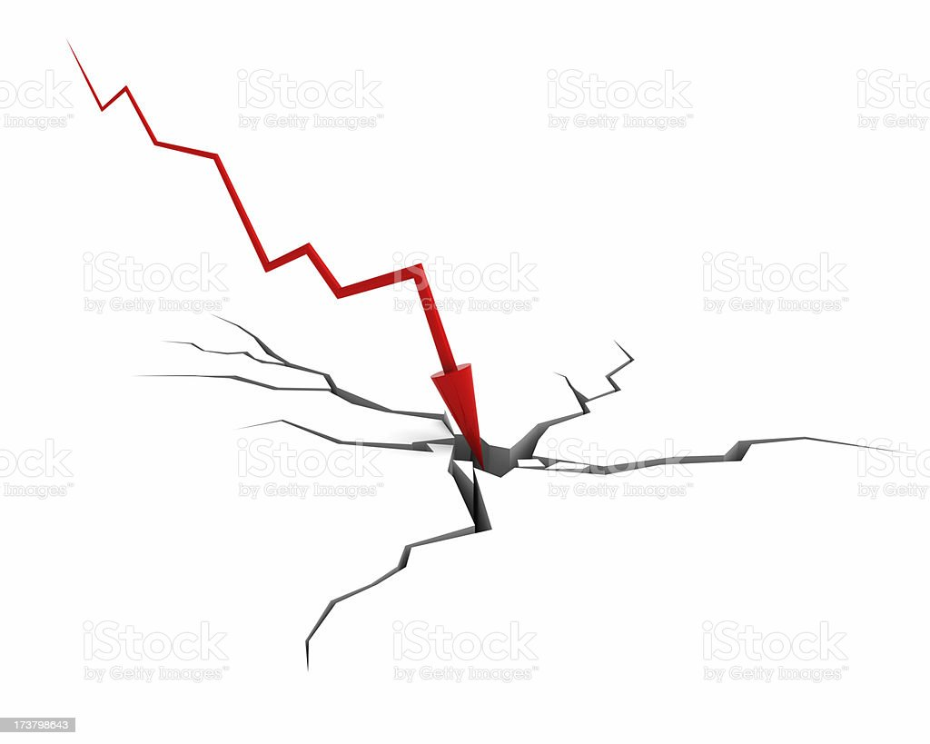 Bankrupt (Financial Crisis Concept) royalty-free stock photo