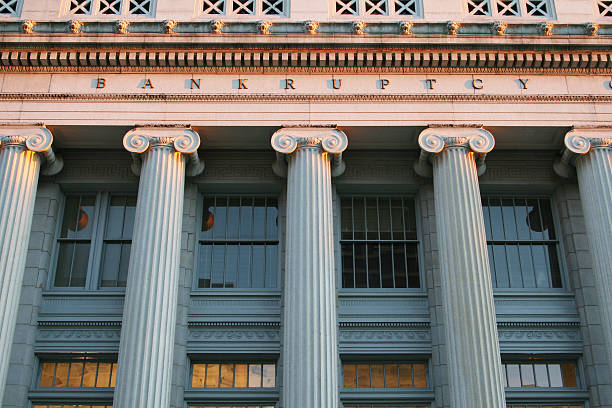 bankruptcy court courthouse, dayton, ohio - bankruptcy stock pictures, royalty-free photos & images