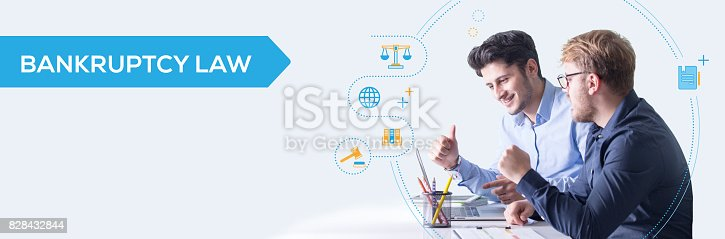 612372074 istock photo Bankruptcy Law 828432844