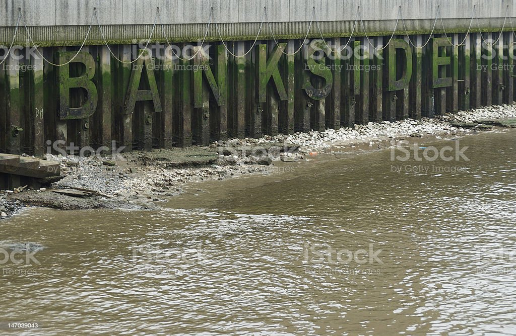 Bankside stock photo